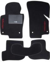 Коврики в салон для Volkswagen Golf VI '09-12 текстильные, черные (Стандарт)