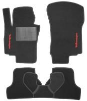 Коврики в салон для Volkswagen Jetta V '06-10 текстильные, черные (Стандарт)