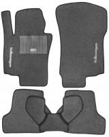 Коврики в салон для Volkswagen Jetta V '06-10 текстильные, серые (Стандарт)