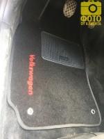 Фото товара 15 - Коврики в салон для Volkswagen Passat B5 '97-05 текстильные, черные (Стандарт)