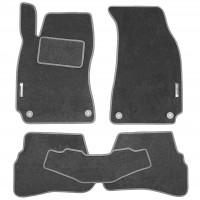 Textile-Pro Коврики в салон для Volkswagen Passat B5 '97-05 текстильные, серые (Стандарт)