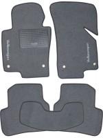 Коврики в салон для Volkswagen Passat B6 '05-10 текстильные, серые (Стандарт)
