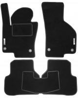 Коврики в салон для Volkswagen Passat CC '09-16 текстильные, черные (Стандарт)