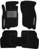 Коврики в салон для Mitsubishi Carisma '95-06 текстильные, черные (Стандарт)