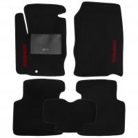 Коврики в салон для Mitsubishi Colt '03-10 текстильные, черные (Стандарт)