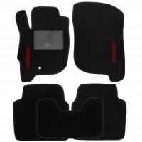 Коврики в салон для Mitsubishi Galant '04-12 текстильные, черные (Стандарт)