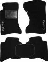 Коврики в салон для Great Wall Hover / H3 '05- текстильные, черные (Стандарт)