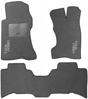 Коврики в салон для Great Wall Hover / H3 '05- текстильные, серые (Стандарт)