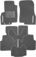 Коврики в салон для Mitsubishi Grandis '03-11 текстильные, серые (Стандарт)
