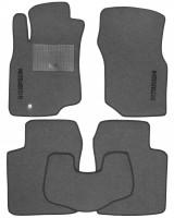 Коврики в салон для Mitsubishi Lancer 9 '04-09 текстильные, серые (Стандарт)