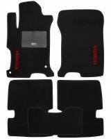 Коврики в салон для Honda Accord '13-, европ версия, текстильные, черные (Стандарт)