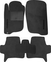 Коврики в салон для Mitsubishi Pajero Sport '08-16 текстильные, серые (Стандарт)