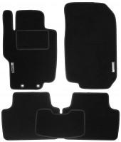 Коврики в салон для Honda Accord 7 '03-08 текстильные, черные (Стандарт)