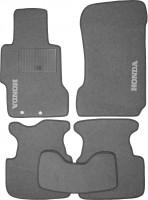 Коврики в салон для Honda Accord 7 '03-08 текстильные, серые (Стандарт)