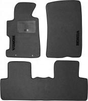 Коврики в салон для Honda Civic 4D '06-12 текстильные, серые (Стандарт)