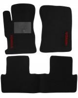 Коврики в салон для Honda Civic 4D '12-17 текстильные, черные (Стандарт)