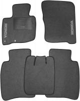 Коврики в салон для Honda Civic 5D '06-12 текстильные, серые (Стандарт)