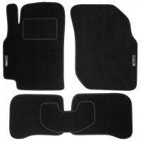 Коврики в салон для Nissan Almera '00-06 текстильные, черные (Стандарт)