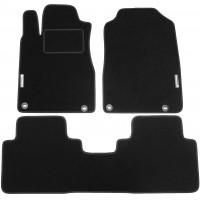 Коврики в салон для Honda CR-V '12- текстильные, черные (Стандарт)