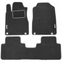 Коврики в салон для Honda CR-V '12- текстильные, серые (Стандарт)