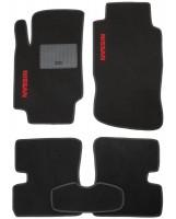 Коврики в салон для Nissan Micra '10-17 текстильные, черные (Стандарт)