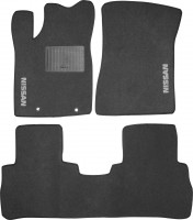 Коврики в салон для Nissan Murano '08- текстильные, серые (Стандарт)