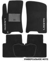 Коврики в салон для Honda FR-V '04-09 текстильные, черные (Стандарт)