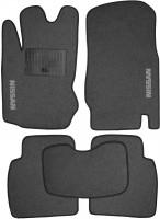 Коврики в салон для Nissan Note '06-13 текстильные, серые (Стандарт)