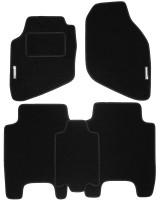 Коврики в салон для Honda Jazz '03-08 текстильные, черные (Стандарт)