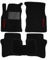 Коврики в салон для Nissan Primera '02-08 текстильные, черные (Стандарт)