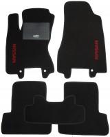 Коврики в салон для Nissan Rogue '08-13 текстильные, черные (Стандарт)