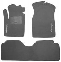 Коврики в салон для Volkswagen Sharan '01-10 текстильные, серые (Стандарт)