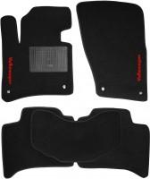 Коврики в салон для Volkswagen Touareg '10- текстильные, черные (Стандарт)