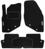 Коврики в салон для Volvo S60 '00-10 текстильные, черные (Стандарт)
