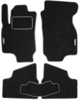 Коврики в салон для Opel Astra G '98-10 текстильные, серые (Стандарт)