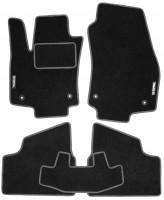 Коврики в салон для Opel Astra H '04-15, хетчбэк, текстильные, серые (Стандарт)