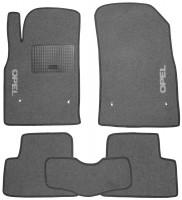 Коврики в салон для Opel Astra J '09-, текстильные, серые (Стандарт)