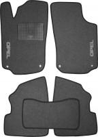 Коврики в салон для Opel Combo '01-12 текстильные, серые (Стандарт)