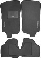 Коврики в салон для Opel Corsa C '00-06 текстильные, серые (Стандарт)
