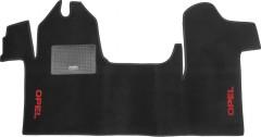 Коврики в салон для Opel Movano '11- текстильные, черные (Стандарт)