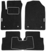 Коврики в салон для Opel Vectra C '02-08 текстильные, серые (Стандарт)