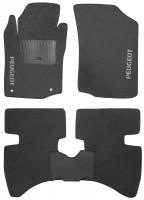 Коврики в салон для Peugeot 107 '05-14 текстильные, серые (Стандарт)
