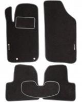 Коврики в салон для Peugeot 206 '98-09 текстильные, серые (Стандарт)