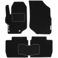 Коврики в салон для Peugeot 301 '12- текстильные, черные (Стандарт)