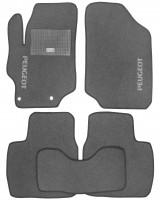 Коврики в салон для Peugeot 301 '12- текстильные, серые (Стандарт)