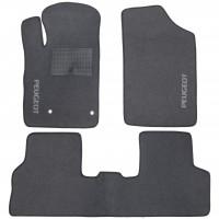 Коврики в салон для Peugeot Partner '02-08 текстильные, серые (Стандарт)