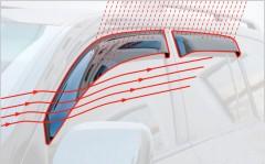 Дефлекторы окон для Citroen Jumper '06-14 (Cobra)