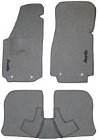 Коврики в салон для Audi 100 /A6 '91-97 текстильные, серые (Стандарт)