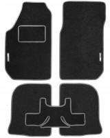 Textile-Pro Коврики в салон для Audi 100 /A6 '91-97 текстильные, серые (Стандарт)