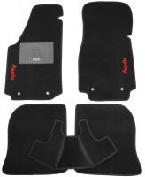 Коврики в салон для Audi 100 /A6 '91-97 текстильные, черные (Стандарт)